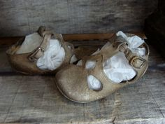 Antique Old Tattered Edwardian Shoes for Small door reginasstudio, $28.95