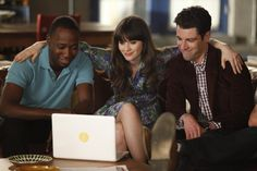 """""""I'm like a sexual snowflake. Each night with me is a unique experience."""" (New Girl - """"Bully"""")"""