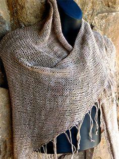 Ravelry: Easy Beaded Fringe Shawl pattern by Mary Gavan