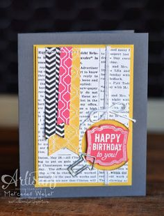 Another card I made for the weekly Artisan blog hop!