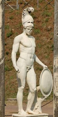 Ares was the son of Zeus and Hera and was the god of war in Greek mythology.