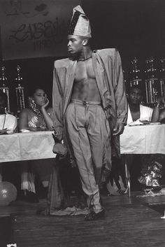 NYC ballroom, 1990. Photographer: Chantal Regnault. 'Voguing and the House Ballroom Scene of New York City 1989 -92' SoulJazz Records
