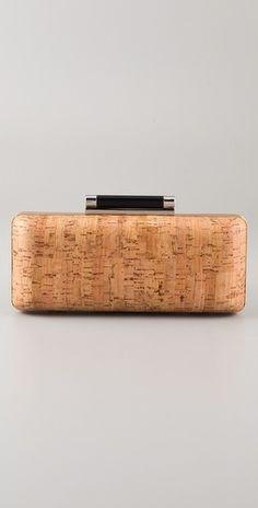 DVF cork clutch