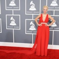 Kaya Jones arrives at the 55th Annual GRAMMY Awards