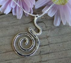 Spiral pregnant silouette