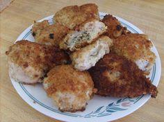 Garlic and Basil Stuffed Chicken Breasts