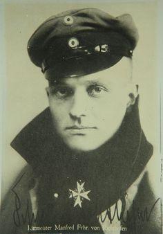 Manfred Albrecht Freiherr von Richthofen (aka The Red Baron)