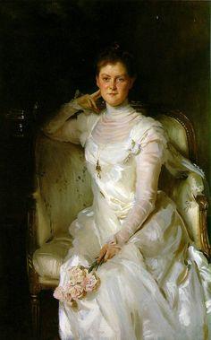John Singer Sargent's Mrs. Joshua Montgomery Sears (Sarah Choate Sears)