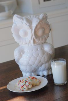 owl cookie jar...