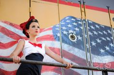 Miranda 10 1024x681 Americana + Rockabilly HS Senior Photos
