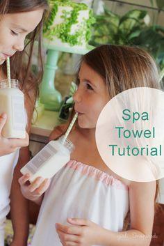 DIY: spa towel