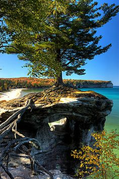 Chapel Rock, Pictured Rocks National Lakeshore, Michigan