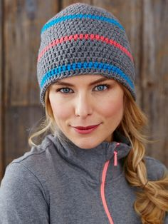 Get cozy with these cool crochet hats! With 5 versions to choose from, you're sure to find the perfect one to suit your style.