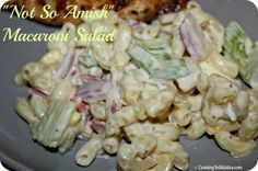 """""""Not So Amish"""" Macaroni Salad"""
