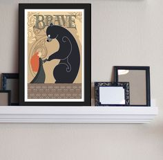 Brave Merida and Elinor Tapestry Bear Disney Pixar Movie Poster 11 x 17 on Etsy, $17.95