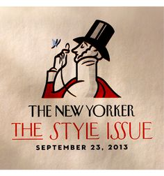 House and the New Yorker! two of my favorite things! House Industries for the New Yorker: Irvin, Neutraface