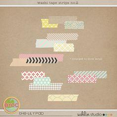 washi tapes strips no. 2