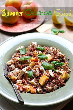 Summer Quinoa Salad   Fabtastic Eats