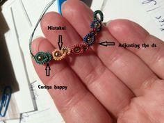 CM-Handmade: Beaded chain, Nina's Libin method