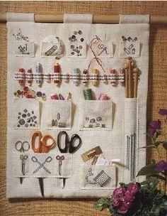 sewing-knitting-crochet organizer