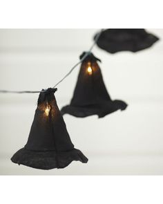 witch hat string lights!