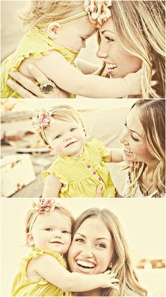 Cute mother daughter pictures