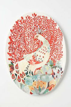 #Anthropologie - Evenings In Quito Platter #anthrofave