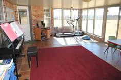 Backporch--> awesome rec room