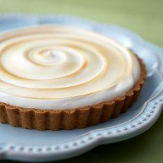 lime meringue tart