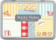 Culinary sticky notes, deep joy!