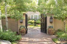 "georgianadesign:  ""New Mexico Territorial Revival"" style residence. Knape & Zibell Interior Design. Colorado Homes & Lifestyles."