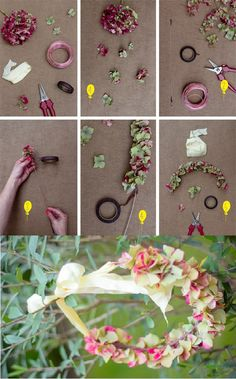 #diy #DIY #wedding #casamento #arco #tiara