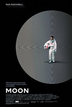 "Movie Poster of the Week: ""Moon"" on Notebook   MUBI"