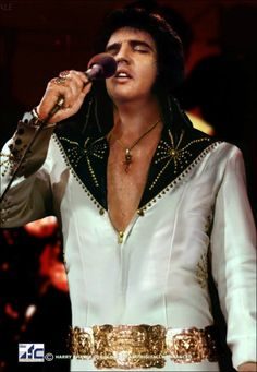 Elvis Presley...early 70's