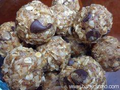 No-Bake Energy Balls. So easy to make AND yummy AND good-for-you!