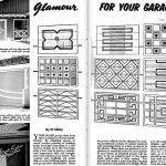 Glamour for your garage door - Mid-Century garage designs