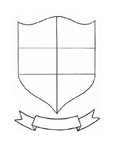 Coat Of Arms Template Pdf Classroom ideas on Pin...