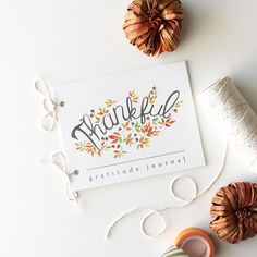 Free Printable Gratitude Journal for Thanksgiving! Everyone writes what they are most thankful for that year, then signs it. Year after year you can see what blessings have been brought to your friends & family, along with who has been a part of your table! | I am most excited about recording the sweet things that the kids come up with at the table! <3