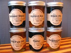 Vermont Crafted Beer Jelly