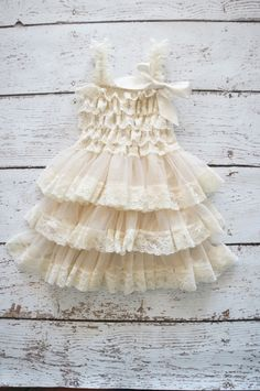 Even this is just adorable!! Flower Girl Dress Lace Flower girl dress Baby by PoshPeanutKids, $35.00