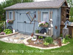 8 Ways To Make Your Garden Awesome (no plants needed for these ideas!) #ebay