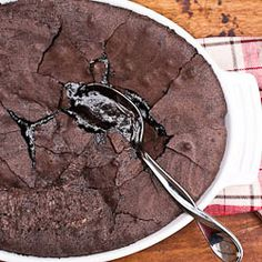 brownie pudding pie. oh my lord.