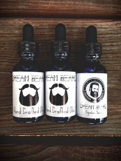 Dream Beard Oils, purchase at Brim on Fifth or at the Bearded Barber, Fifth Street, Oregon District || Dayton, Ohio