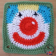 http://www.ravelry.com/patterns/library/jolly-clown-afghan-square