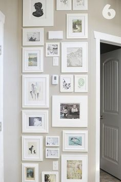 DIY Art/Photo Wall Collages and Endless Inspiration