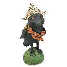 Halloween Raven by Debra Schoch