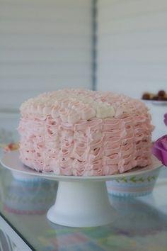 Pink Champagne Cake Recipe using a cake mix