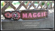 """Custom halter noseband for """"Maggie"""""""
