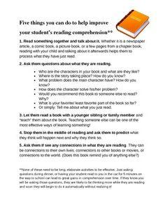 Home Reading Strategies