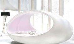 Egg shaped bed